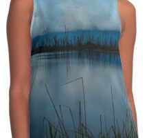 Cloudy Bowers Contrast Tank