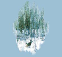 Deer in the Forest Kids Tee