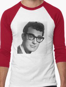 buddy holly Men's Baseball ¾ T-Shirt