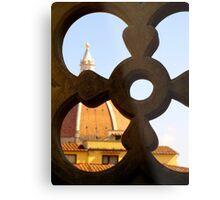Looking through the Duomo Metal Print