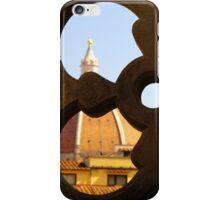 Looking through the Duomo iPhone Case/Skin