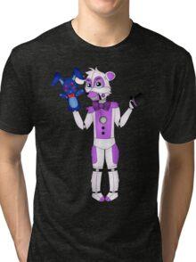 FNAF Sister Location Funtime Freddy Tri-blend T-Shirt