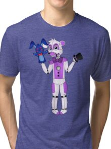 FNAF Sister Location Funtime Freddy Tri-blend T-Shirt