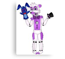 FNAF Sister Location Funtime Freddy Canvas Print