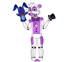 FNAF Sister Location Funtime Freddy Photographic Print