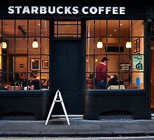 Starbucks Spitalfield by Eric Flamant