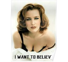 Gillian Anderson Poster