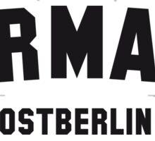 GERMANY OSTBERLIN Sticker