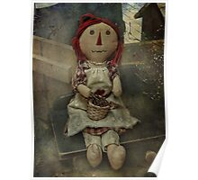 Country Rag Doll Poster