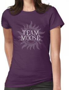 Supernatural - Team Moose Womens Fitted T-Shirt
