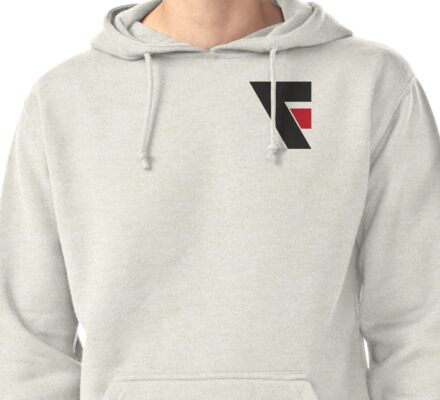 F Logo Pullover Hoodie