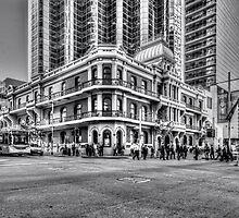 City of Perth - lunch rush hour by MAPhotos