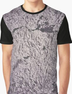 Grunge Wall Texture Graphic T-Shirt