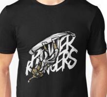 White Power Ranger Sky Surfing Unisex T-Shirt
