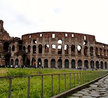 Just the Colosseum Here by Cristy Hernandez