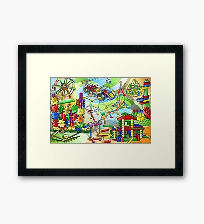 cartoon Framed Print