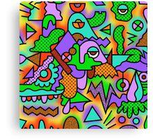 Time Machine Paradox Canvas Print
