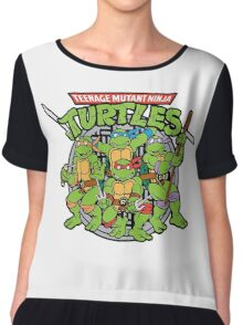 Teenage Mutant Ninja Turtles - 1987 Chiffon Top