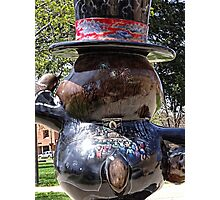 Groundhog Festivities Photographic Print