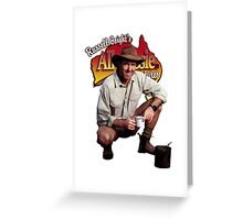 Russell Coight Greeting Card