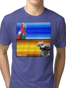 Ready Player One... FIGHT! Tri-blend T-Shirt