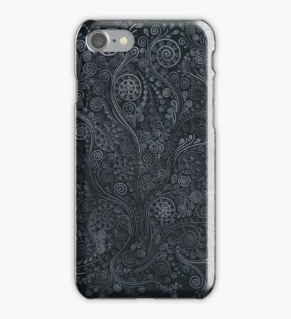 Soft blue psychedelic iPhone Case/Skin