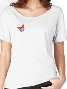 Mali's Psychedelic Butterfly Women's Relaxed Fit T-Shirt