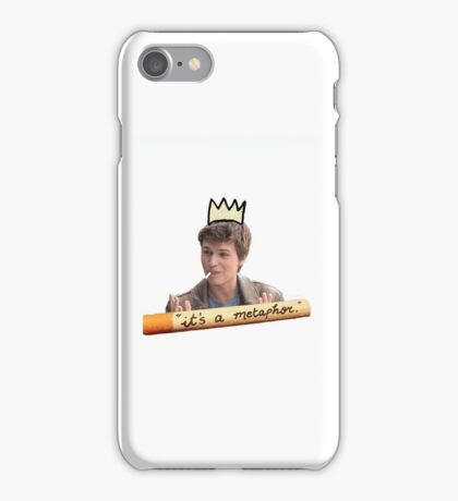It's A Metaphor Augustus Waters iPhone Case/Skin