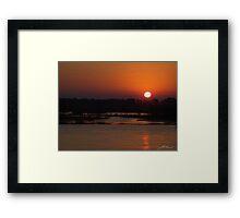Urunga Sunrise 1 Framed Print