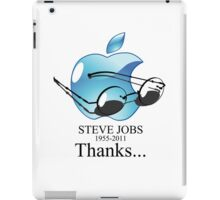 Thanks Mr. Jobs iPad Case/Skin