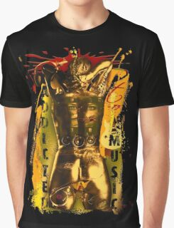 MusiC SYnthetiC AddiCtion TPF Graphic T-Shirt