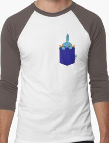 Mudkip in my Pocket Men's Baseball ¾ T-Shirt