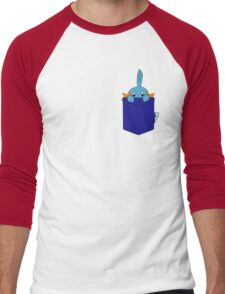 Mudkip in my Pocket Men's Baseball ¾ T-Shirt