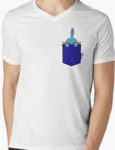 Mudkip in my Pocket Mens V-Neck T-Shirt