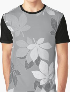 Background of chestnut leaves Graphic T-Shirt
