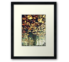 Every Time I See You Falling Framed Print