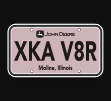 Ladies XKAV8R John Deere License Plate by WickedCool