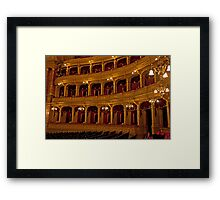 State Opera House Framed Print