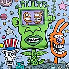 Whacky Graffiti by phil decocco