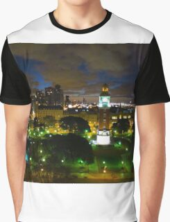 Buenos Aires Twilight Graphic T-Shirt