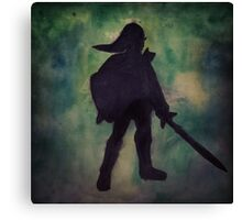 Legend of link Canvas Print
