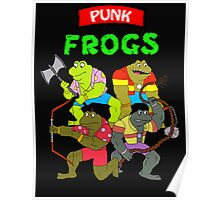 The punk frogs Poster