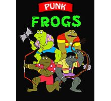 The punk frogs Photographic Print