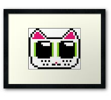Pixel Kitty Framed Print
