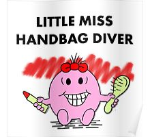 Miss Handbag Diver Poster