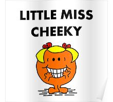 Miss Cheeky Poster