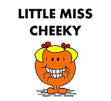 Miss Cheeky Photographic Print