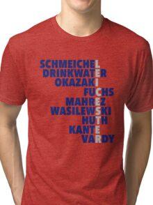2015/16 Premier League Champions: Leicester player names Tri-blend T-Shirt