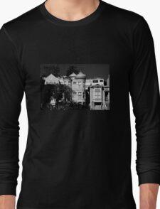 Kind Of Three Of A Kind - B&W  Long Sleeve T-Shirt