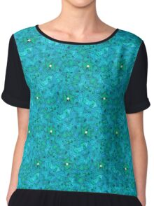 Psychedelic Sea Chiffon Top